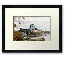 Travel in Russia Pskov Kremlin  Framed Print