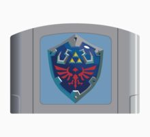 Hylian Shield N64 Cartridge by bmgoepfert
