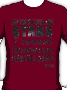 My Thoughts Are Stars T-Shirt
