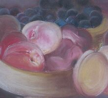 Fruit in a basket by OlaG