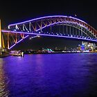Lighting of the Harbour Bridge by BrockstarDesign