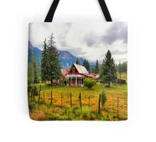 Life On The Mountain Tote Bag