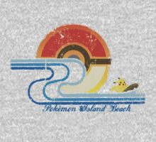Pokémon Island Beach by RecycleBin