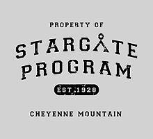 Property of Stargate Program by boogiebus