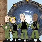 Stargate  by boogiebus