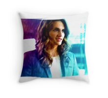 Painted at the precinct Throw Pillow