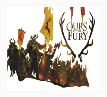 House Baratheon - Ours is the Fury - White by Bergami