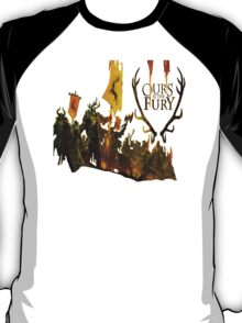 House Baratheon - Ours is the Fury - White T-Shirt
