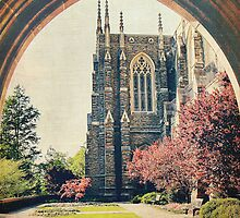 Through the Arch: Duke Chapel by Kadwell