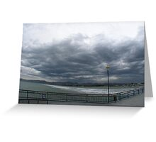 Lonely Boardwalk Greeting Card