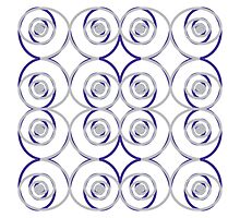 Sterling Roses Pillow by DougPop