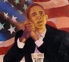 Barack Obama by Fine-Artist