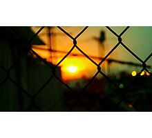 In Another World The Sun Goes Down Photographic Print