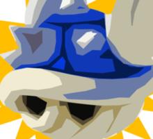 Blue Shell = BS  Sticker