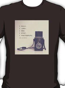 Vintage Camera  T-Shirt