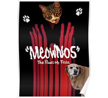 """Meownos"" The Paws of Fate v.2 Poster"