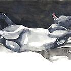 Cat Naps: The Life Model by Denise Faulkner