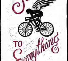 The Solution to Everything - Ride A Bike by CYCOLOGY