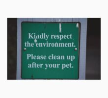 Pet Sign by Brian Blaine