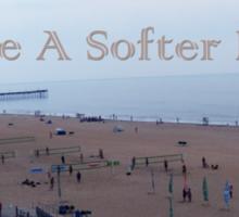 Softer Beach Sticker