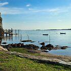 New England Seascape by Bluejayarts