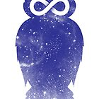 Cosmic owl II by Jonah Block