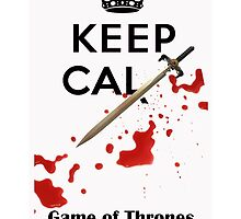 Keep Calm - Game of Thrones  by deborahsmith