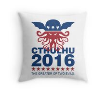 Vote Cthulhu 2016 Throw Pillow