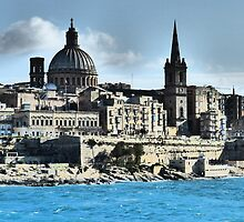 Valletta Waterfront by davidandmandy