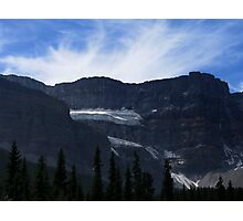 Crowfoot Glacier Photographic Print