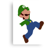 Luigi Minimalist Design Canvas Print