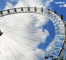 London Eye by Chemical Creations  Photography
