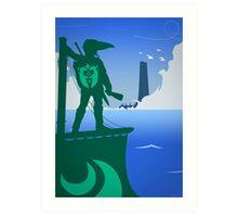 Zelda - The Wind Waker Art Print