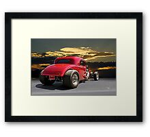 1934 Chevy Coupe 5 Framed Print