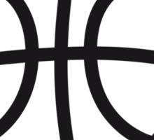 Basketball sports tournament ball Sticker