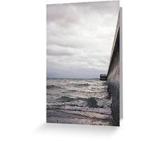 Breaking Lake Ontario Greeting Card