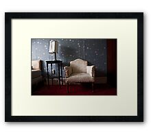 The Chair, NY Framed Print