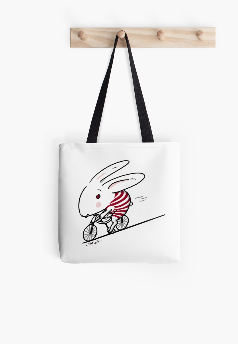 Bunny Riding a Bike by TsipiLevin