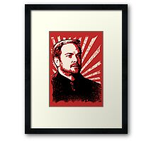 Crowley - King of Hell Framed Print