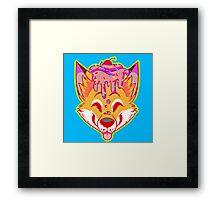 Cupcake Fox Framed Print