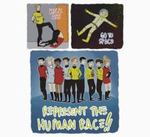 kick ass go to space represent the human race by vulcan-ology