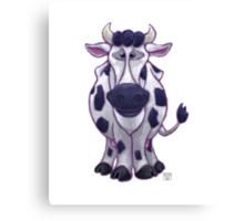 Animal Parade Cow Canvas Print