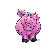 Animal Parade Pig Photographic Print