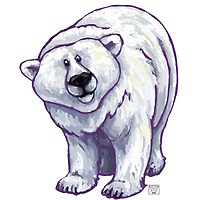 Animal Parade Polar Bear by Traci VanWagoner