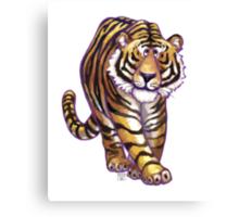 Animal Parade Tiger Canvas Print