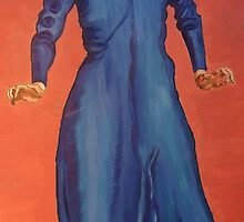 lady in blue by eleanor-may