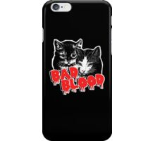 Bad Blood // Cats (colored shirts) iPhone Case/Skin