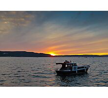 Supper at Sunset Photographic Print