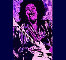 """Jimmi Hendrix 3"" by Kevin J Cooper"