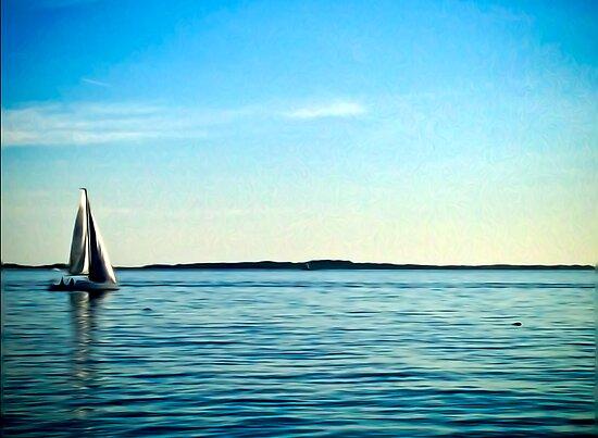 Sail Away by Bluejayarts